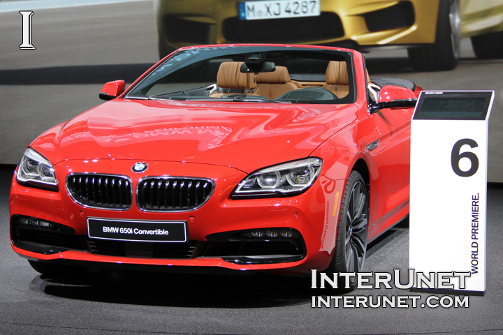 2016 BMW 650i Convertible
