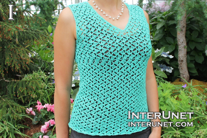 Crochet Blouse Instructions 9