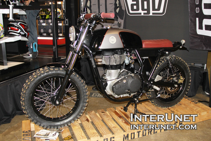 Analog-Custom-Motorcycle-with-screws-for-ice-studded-tires