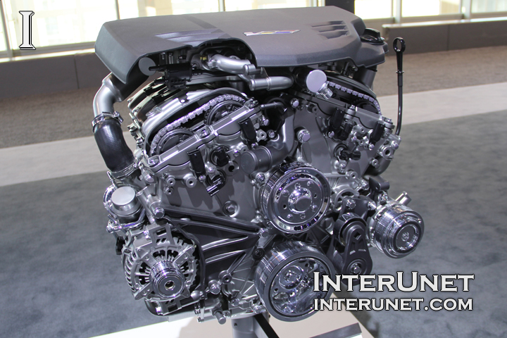 Cadillac ATS-V LF4 3.6L V6 VVT Twin Turbo engine