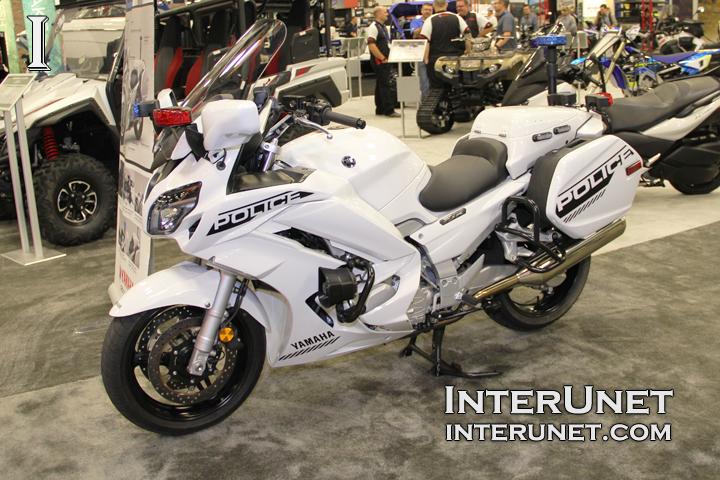Yamaha-Police-Motorcycle