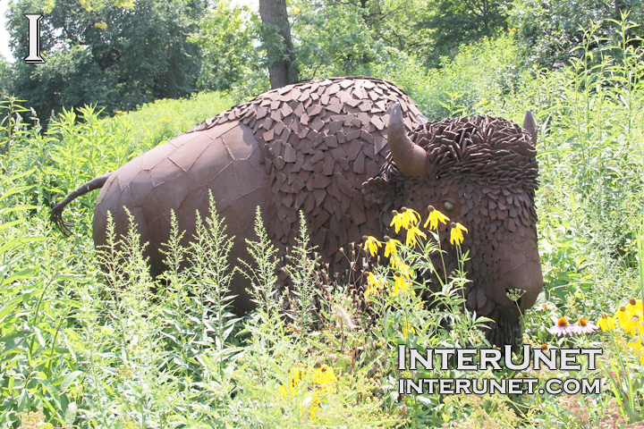 bison-sculpture
