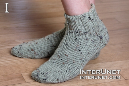 How To Knit Basic Socks Interunet