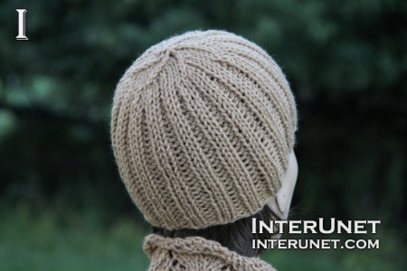 How-to-knit-ribbed-hat