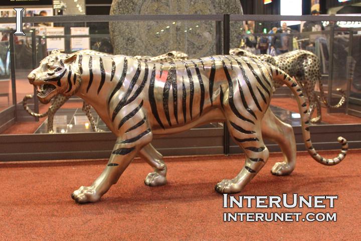 Скульптура тигра своими руками 38