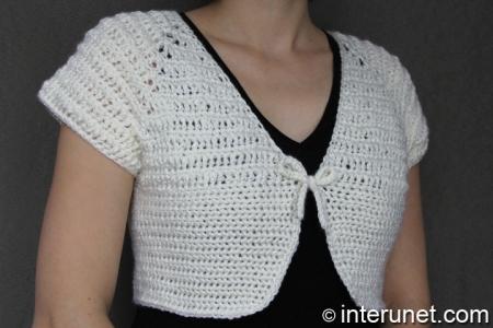 ladies-crochet-bolero