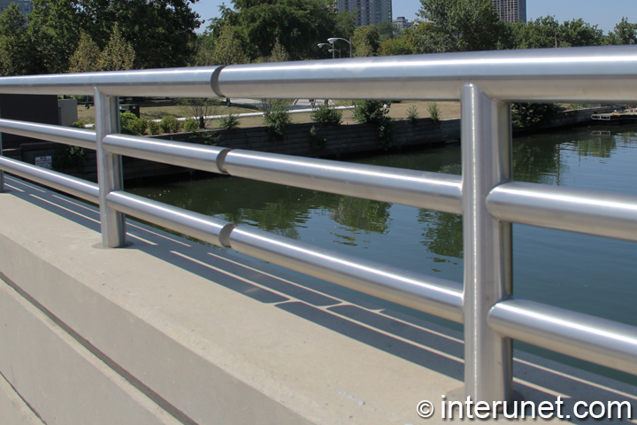 metal-fence-on-bridge