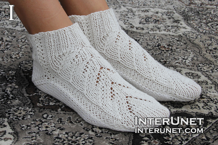 Knitting Pattern For Cotton Socks : How to knit socks on two needles interunet