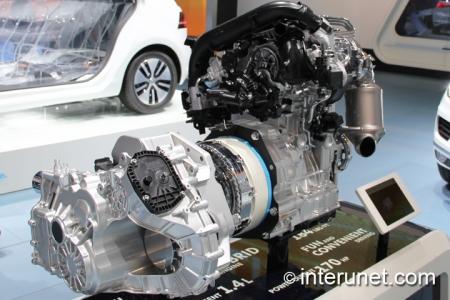 2015 Volkswagen Jetta Hybrid engine and transmission
