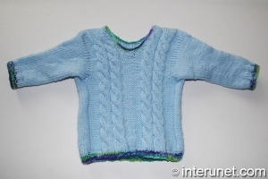 hand-knitted-child's-sweater