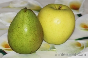 pear-with-apple