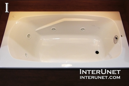 Bathtub replacement cost interunet for Walk in tub water capacity