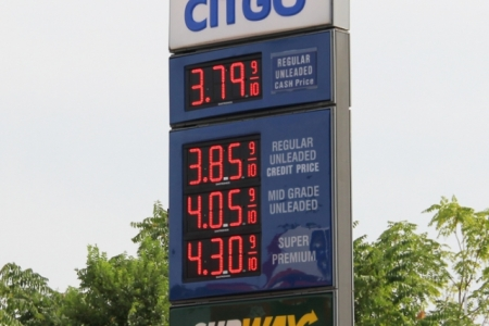gas prices in Chicago