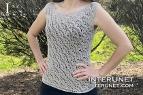 crochet blouse shell pattern