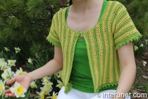 women's-short-sleeve-summer-top-crochet-pattern
