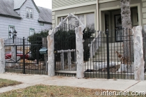 custom-fence-with-stylish-posts-and-steel-sections