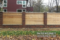brick-wood-fence-combination