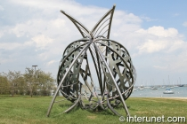 """Transformation"" sculpture in Chicago by Fisher Stolz"