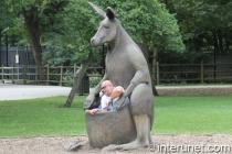 kangaroo-sculpture-with-men