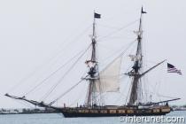 tall-ship-on-lake-Michigan
