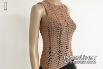 high neck sleeveless vest crochet pattern