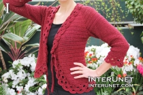crochet-triple-crochet-jacket-with-tie