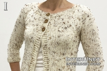 knit cardigan jacket pattern
