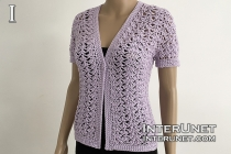 lace cardigan crochet free pattern