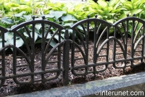 nice low garden fence