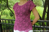 pineapple-stitch-blouse