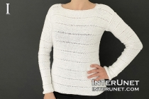 simple sweater knitting pattern