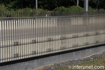 steel bars fence contemporary design