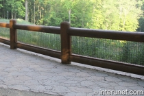 two-horizontal-logs-fence