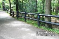 two-split-rails-lumber-fence-black