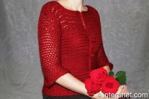 crochet stylish women's cardigan