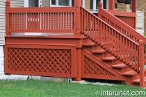 wood-porch-pained-red