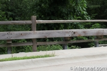 wood-security-barrier-on-metal-posts