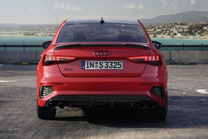 2021 Audi S3 Sedan rear