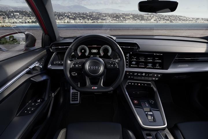 2021 Audi S3 Sedan dash