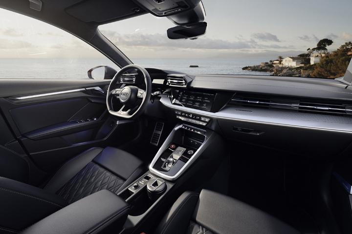 2021 Audi S3 Sedan front inside