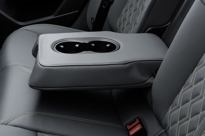 2021 Audi S3 Sedan rear seats