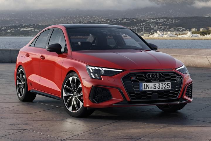 2021 Audi S3 Sedan front right