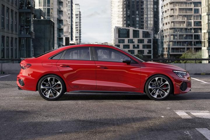2021 Audi S3 Sedan side right