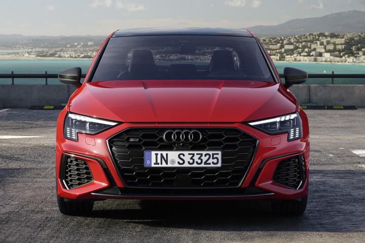 2021 Audi S3 Sedan Front