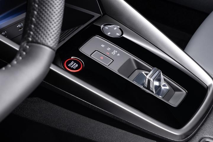 2021 Audi S3 Sedan inside