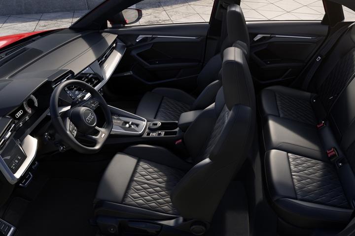 2021 Audi S3 Sedan interior