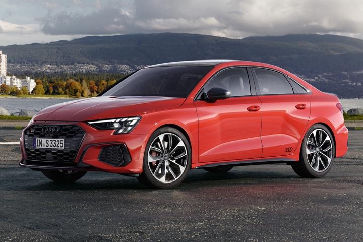 2021 Audi S3 Sedan side left
