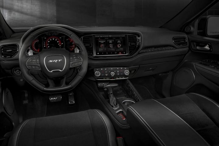 2021 Dodge Durango SRT Hellcat black leather