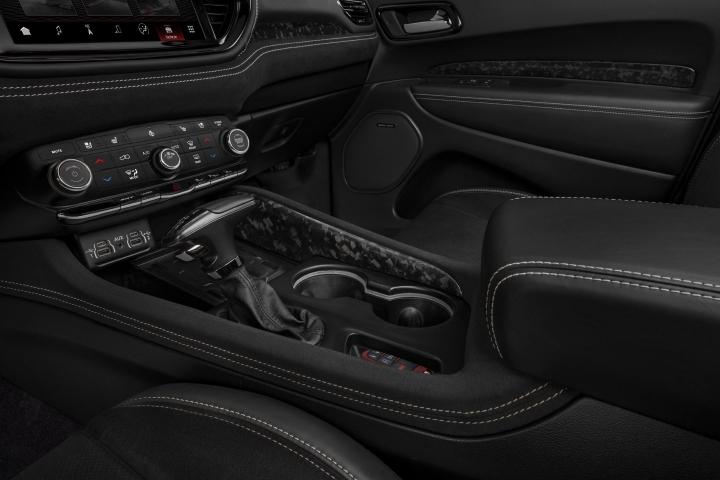 2021 Dodge Durango SRT Hellcat center console