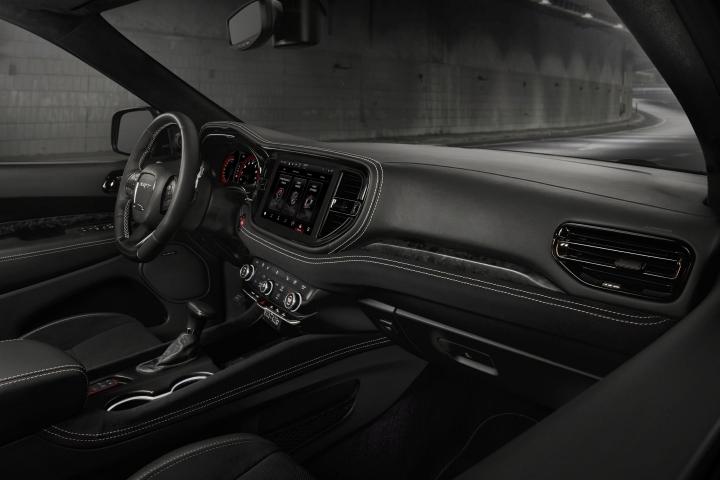 2021 Dodge Durango SRT Hellcat dash